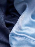 Blue silk scarves