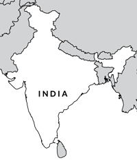 The SilkChassis map of India
