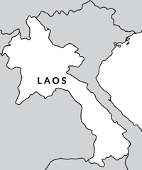 The SilkChassis map of Laos